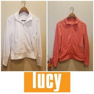 Lucy Bundle Tech Athletic Zip Front Jacket